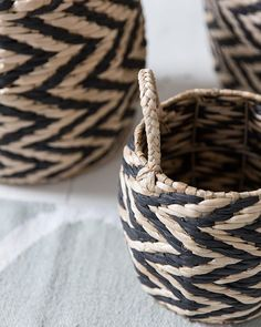 Wicker baskets make for the best storage solutions!