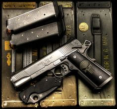 This 1911 has some great blending of old and new school...  It begs to be used.