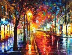 """Street Of The Old Town   Size: 40"""" X 30"""" Inches (100cm x 75cm)     #WednesdayWisdom"""