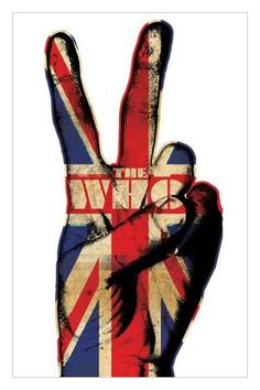 music style+artist name The Who with Roger Daltry.レ o √ 乇 ღ - ❥Hippie Style❥☮☮ - classic rock music poster. Roger Daltrey, Ozzy Osbourne, Rock Posters, Band Posters, Union Jack, Jimi Hendrix, Metallica, Rock N Roll, Mundo Hippie