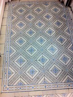 Zementfliesen, Belgien. cement tiles, belgium.
