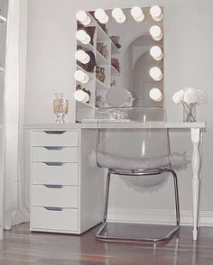 Simple Vanity Inspo- Short sweet and to the point.