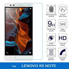 9H 2.5D Premium Tempered Glass for lenovo k5 note Explosion-proof Phone Accessories Film Protector Glass for lenovo vibe k5 note #Affiliate