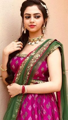 Beautiful Bollywood Actress, Most Beautiful Indian Actress, Beautiful Actresses, 15 Dresses, Girls Dresses, World's Cutest Girl, Indian Actress Gallery, Frock Fashion, Saree Photoshoot