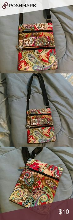 BRAND NEW Small Paisley Purse Never used, NWOT Bags