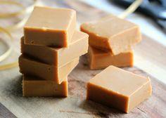 Condensed milk fudge - use other recipe to make rice-milk-condensed-milk