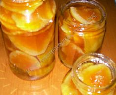 Crete culinary circumnavigation: Sweet Orange in syrup Comme Un Chef, Le Chef, Pumpkin Butter, Apple Butter, Greek Sweets, My Dessert, Yams, Greek Recipes, Sweet Desserts