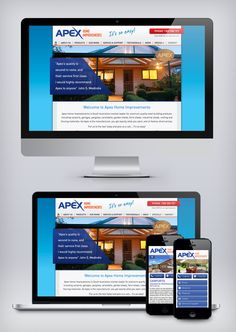 Here's an excellent example of how a website looks when it's 'mobilised'. With elevated calls to action it's much easier to navigate on your smartphone. Want to see more of our work just visit: http://www.nrgadvertising.com.au