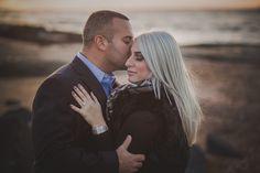 Madison CT Maternity/Engagement | Francesca & Mike – Maler Photography