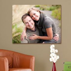 Personalized Picture Perfect Photo Canvas