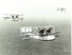 August 12, 1927: The Royal Air Force holds a fly-off between four competing flying boat designs, the Supermarine Southampton, Blackburn Iris, Short Singapore, and Saunders-Roe Valkyrie.