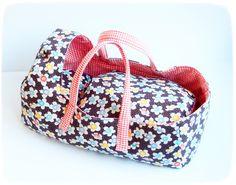 """Puppen - Puppentragetasche mit Bettzeug: """"Lieselotte"""" - ein Designerstück von…"""