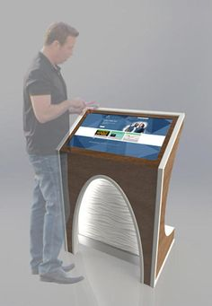 Dimensional Design | Interactive Kiosks