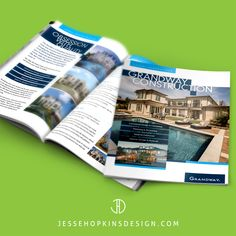 Client: Grandway Construction Inc. Projects: Brochure, Branding, Direct Mail Postcards - - Grandway Construction believes your home should clearly reflect your unique style. That's why we design and build homes to your unparalleled sense of style, whatever and however that may be. From Southern Italianate to Andalusian to Modern Transitional, we can build anything and everything you can dream of. - - Start Communicating. Get Results! www.jessehopkinsdesign.com - - #branding #graphics #logo… Direct Mail Postcards, Marketing Approach, Problem Solving, Design Projects, Budgeting, Southern, Construction, Branding, Homes