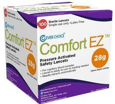 Best Pressure Activated Safety Lancets - Comfort EZ