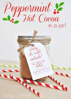 Peppermint Hot Cocoa  - Delish.com