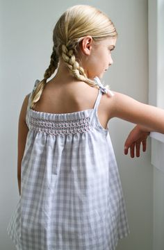 Corinne's Thread: Smocked Dress and ShirtKits - Purl Soho - Knitting Crochet Sewing Embroidery Crafts Patterns and Ideas!