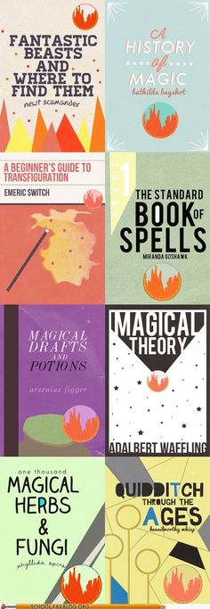 The Hogwarts Collection -- Hogwarts text books