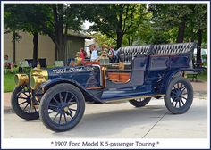 1907 Ford Model K Touring | Flickr - Photo Sharing!