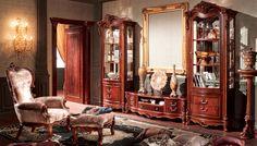 Klasický nábytek obývací stěna royal 228 China Cabinet, Storage, Furniture, Home Decor, Purse Storage, Decoration Home, Chinese Cabinet, Room Decor, Larger