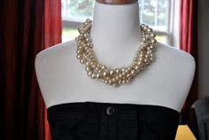 Chunky pearl necklace?
