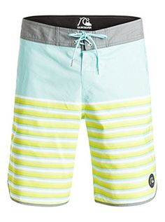 Quiksilver Men's Alinhar 20 Inch Boardshort, Alinhar Aruba Blue, 36 <3 Find out more by clicking the image