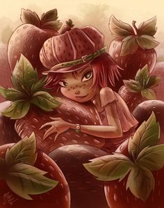 Strawberry Shortcake by mikemaihack on DeviantArt Strawberry Shortcake Pictures, Strawberry Shortcake Characters, Strawberry Shortcake Doll, Cute Wallpaper Backgrounds, Cute Wallpapers, American Dragon, Happy Tree Friends, Sexy Cartoons, Girl Cartoon