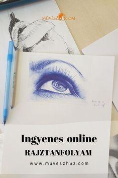 Hogyan rajzoljunk szemet? Igen fontos kérdés, mert a szem rengeteg mindent ki tud fejezni. Sok embernek mégis nehézséget okoz.  Mi segítünk! Kezd el nálunk az ingyenes online rajz tanfolyamot és tanuld meg az alapokat!