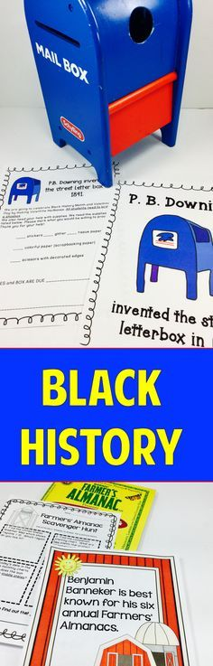 Black History Month & Inventors:  Fun, hands-on activities that highlight contributions of African Americans.  paid