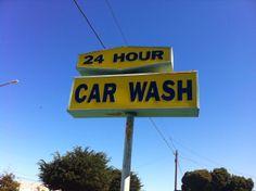 Miracle car wash car wash cars and neon 24 hour self serve car wash carwash vintage solutioingenieria Choice Image
