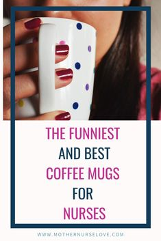 What better gift for a nurse then a funny or inspiring coffee mug? The nurse coffee cups on this list make great new grad nurse gifts, nursing student gifts or any other occasion gift for your favorite nurse. Nursing School Graduation Gifts, New Grad Nurse, Nursing School Humor, Nursing Student Gifts, Nurse Love, Nurse Humor, Nursing Students, Nurse Appreciation Gifts, Nurse Gifts