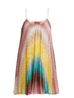 aaa384bb2f00b Missoni Mare Zigzag knitted dress Missoni Mare