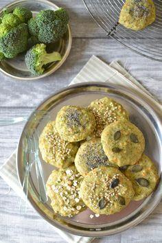 Biscuits végétaux brocoli-carotte (sans gluten)