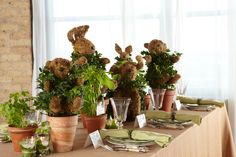 Enchanted Garden. Bring together an enlightening baby shower theme with a host of garden inspired décor like: herb plant favors, naturally flavored waters, vine candle votives, animal topiaries and a garden-themed diaper cake with HUGGIES® Pure & Natural Diapers.