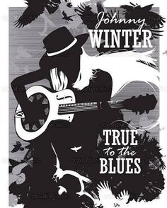 Johnny Winter-poster