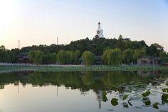 White Pagoda at Beihai's Park, Beijing