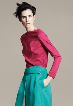 Stella Tennant model