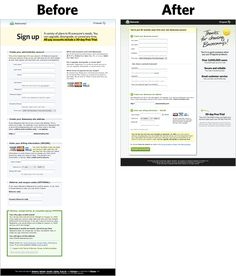 WEB DESIGN: Design Decisions: New signup form by Jason Fried of 37signals