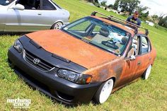 Toyota Corolla Le, Rat Look, Car Mods, Toyota Cars, Small Cars, Jdm Cars, Car Manufacturers, Car Photos, Rats