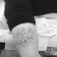 • • Flor do cerrado • • #tattrx #inkstinctsubmission