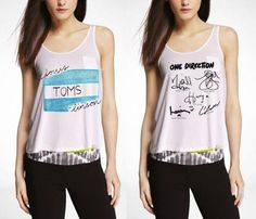 One Direction Louis TOMSlinson/Signatures/Simple But by StylesShop, $25.50