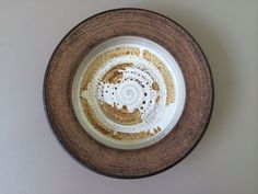 Victoria Littlejohn Studio Pottery Low Bowl by Moderndesign20 on Etsy