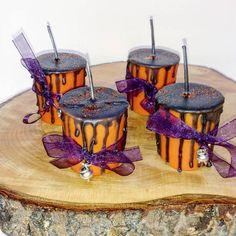Witches Cauldrons Mini Votive  Mini Drippy Halloween Votive