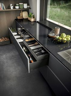Contemporary Kitchen Design (Benefits and Types of Kitchen Style) Kitchen Room Design, Luxury Kitchen Design, Best Kitchen Designs, Kitchen Cabinet Design, Luxury Kitchens, Home Decor Kitchen, Interior Design Kitchen, Kitchen Ideas, Kitchen Inspiration
