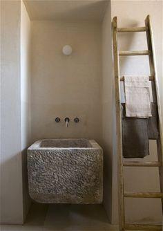 Any vessel will do for a interesting sink. BellaRusticaDesign.com