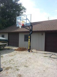 Awesome Over Garage Basketball Hoop