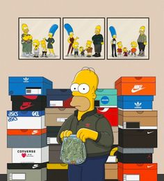 The_Simpsons_Illustrated_as_Sneakerheads_by_Polish_Artist_Olga_Wojcik_2016_13-768x852