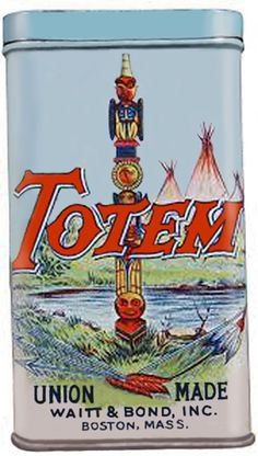 Pocket Tobacco Tin - Totem