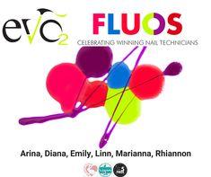 Nieuwe kleuren van Evo by Bio Sculpture: Fluos. Mooie felle kleuren om apart te dragen maar ook om leuke combinaties en creaties te maken. Evo, Bio Sculpture, Nail Technician, Nails, Free, Finger Nails, Ongles, Nail, Manicures
