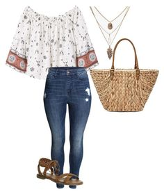 """Untitled #32"" by fia2002 on Polyvore featuring MANGO, H&M, Office and Straw Studios"